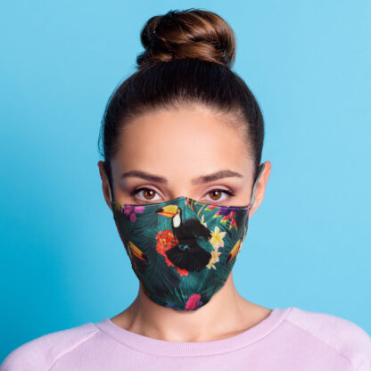 Toucan Party Reusable Face Covering - Large