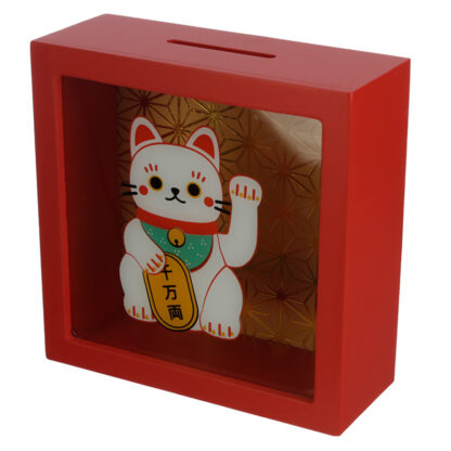 See Your Savings Money Box - Lucky Cat Maneki Neko