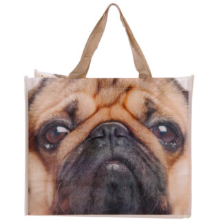 Cute Pug Durable Reusable Shopping Bag