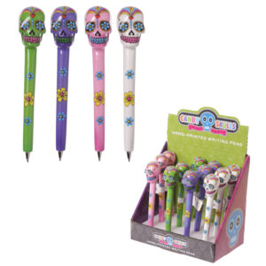 Fun Candy Skull Novelty Day of the Dead Pen