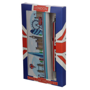 Pen  and  Pencil Case Set - London Icons