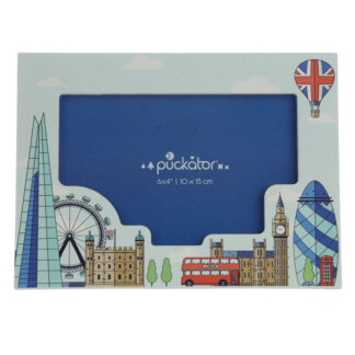 6 x 4 Wooden Photo Frame - London Icons