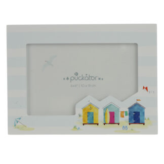 6 x 4 Wooden Photo Frame - Portside Beach Hut