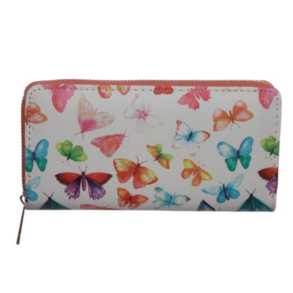Small Zip Around Wallet - Butterfly House