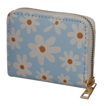 Small Zip Around Wallet - Oopsie Daisy