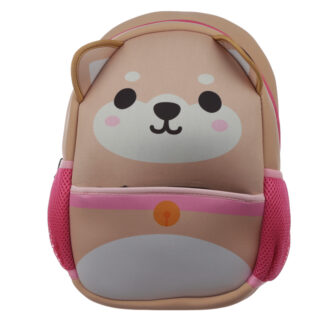 Kids School Neoprene Rucksack/Backpack - Cutiemals Shiba Inu Dog