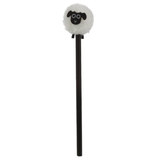 Fun Sheep Pom Pom Pencil with Topper