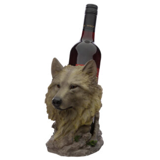 Midnight Dreamer Protector of the North Wolf Bottle Holder