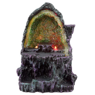 Collectable LED Dark Legends Dragon Crystal Cave Figures