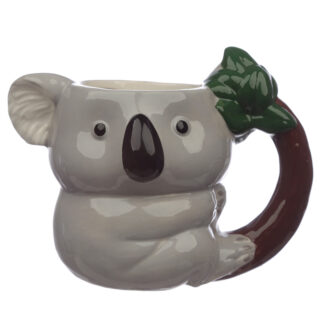 Fun Ceramic Koala Shaped Mug