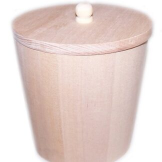 Small Wooden Display Tubs - 95mm