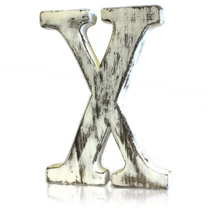 Shabby Chic Letters - X