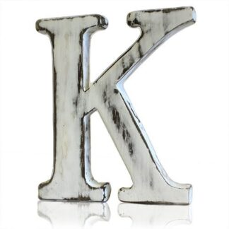 Shabby Chic Letters - K