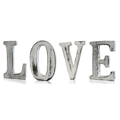Shabby Chic Letters - LOVE (4)