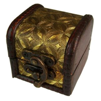 Mini Colonial Boxes - Gold