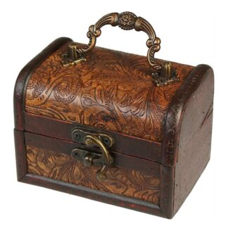 MLrg Colonial Boxes - Floral Embossed