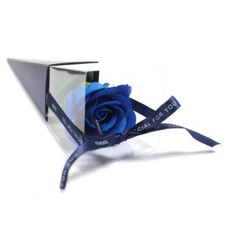Single Rose - Blue  Rose