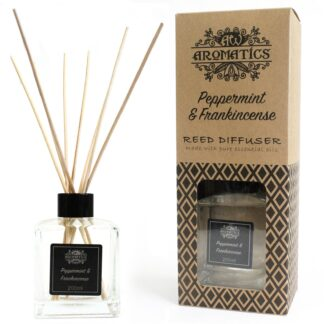 200ml Peppermint & Frankincense Essential Oil Reed Diffuser