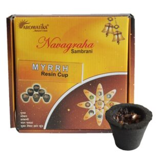 Box of 12 Resin Cups - Myrrh