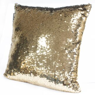 Mermaid Cushion Covers - Molten Gold & Quicksilver