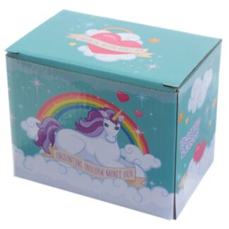 Unicorn on Rainbow money Box