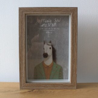 Deep Box Frame - Brown Brush - 4x6 inch (Special)