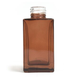 100 ml Square Long Reed Diffuser Bottlle - Amber