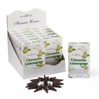 Citronella & Lemongrass Incense Cones