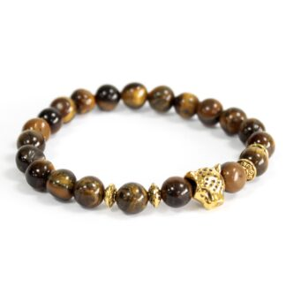 Gold Tiger / Tiger Eye - Gemstone Bracelet