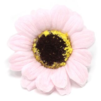 Craft Soap Flowers - Sml Sunflower - Pink