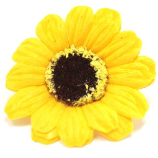 Craft Soap Flowers - Sml Sunflower - Yellow