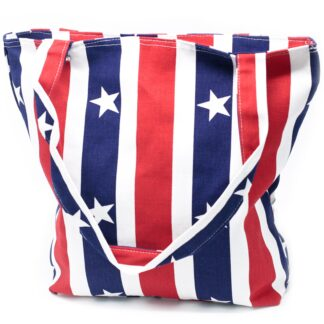 Strong Canvas Bags - Red White & Blue