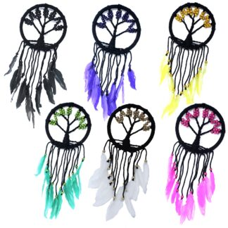 Tree of Life Dreamcatcher - 16cm (assorted)