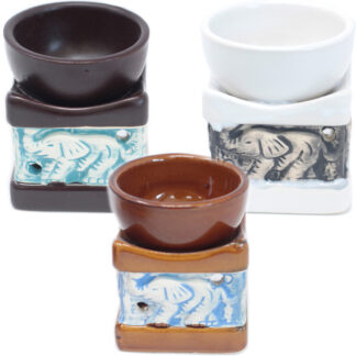 Classic Elephant Oil Burners (aast)
