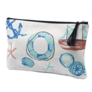Classic Zip Pouch - Anchors