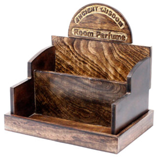 Room Perfume Display Stand - Mango Wood