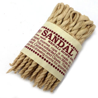 Pure Herbs Sandalwood & Spice Rope Incense