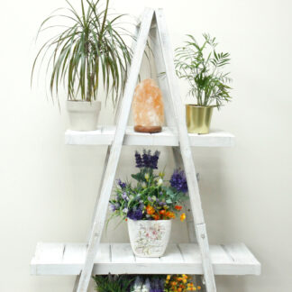 "Folding ""A"" Frame Display - Whitewash"