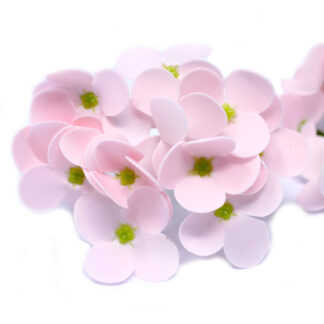 Craft Soap Flowers - Hyacinth Bean - Pink
