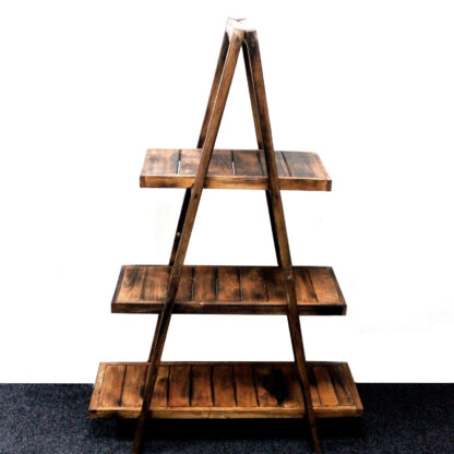 "Folding ""A"" Frame Display - Brown"