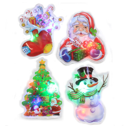 Flashing Christmas Stickers - Selection 1