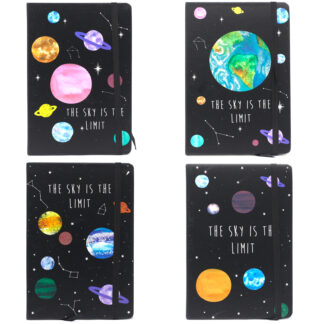 Cool A5 Notebook - Assorted Designs - Sky is the Limit