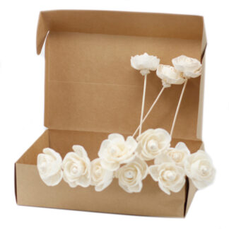 Natural Diffuser Flowers - Rose on Reed