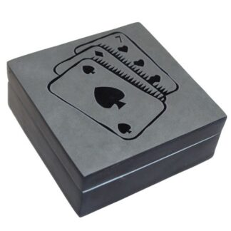 Lucky Black Stone Boxes - Cards