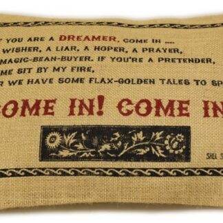 Washed Jute Cover 38x25cm - Come In!