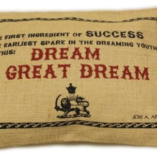 Washed Jute Cover 38x25cm - A Great Dream