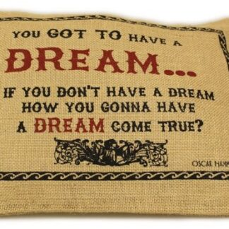 Washed Jute Cover 38x25cm - Dream
