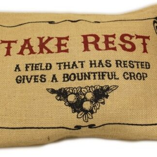 Washed Jute Cover 38x25cm - Take Rest
