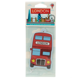 London Red Routemaster Bus Mint Scented Air freshener