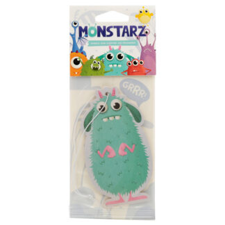 Turquoise Monstarz Monster Bubble Gum Scented Air freshener